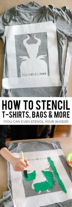 Learn how to use Freezer Paper to make custom printed t-shirts, tote bags and more.