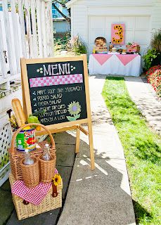 farm picnic party