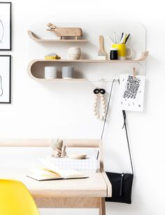 Rafa Kids M Shelf, European kids furniture design, natural plywood wall shelf for modern kids room and nursery decor Kids Room Furniture, Retro Furniture, Furniture Layout, Cheap Furniture, Furniture Design, Furniture Stores, Furniture Outlet, Discount Furniture, Furniture Cleaning