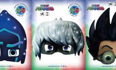FREE PJ MASKS PRINTABLES! CLICK HERE TO PIN THIS POST The popular Disney Jr show PJ Masks has a NEW website with new games, actvities, and more! To celebrate I have PJ Masks printables – Romeo, Night Ninja, and Luna masks – click each image to download and print! Click HERE to print Owlette, Gekko, and …
