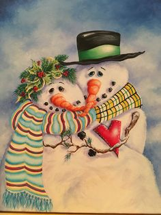New Photo whimsical Snowman painting Concepts It is difficult to resist introducing your snowman painting venture straight into an art curriculum. Snowmen Paintings, Christmas Paintings, Couple Painting, Artist Painting, Art Curriculum, Light Painting, Paint Designs, How To Introduce Yourself, Snowman