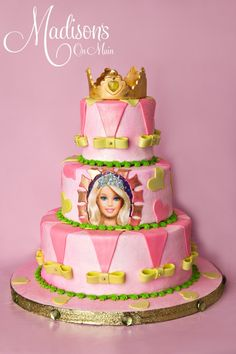 Barbie Cake - first choice
