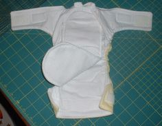 Diaper Sewing Tutorials » Sew an All in One with Quick Dry Soaker