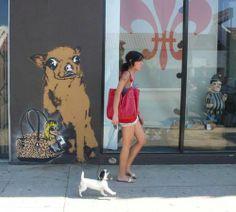 Chihuahua Street Art...  www.chiwawadogs.net