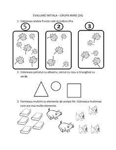 Kindergarten Math Worksheets, Classroom Activities, Emotions Preschool, Romanian Language, Paper Trail, Montessori Toddler, Thing 1, Teaching, Geo