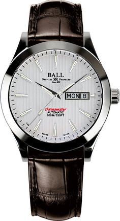 Ball Watch Company Chronometer Red Label #bezel-fixed #bracelet-strap-crocodile…