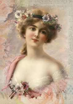 Beautiful Digital Vintage  Art images created excludive by Artsy Bee Digital.  Free to download digital images and graphics.  Public Domain CCO. Free for personal and commercial use. Perfect for scrapbooking, crafts, decoupage and collage art projects.