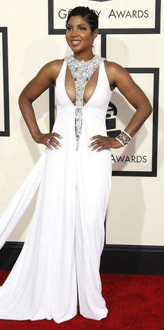 Grammy dress braxton toni