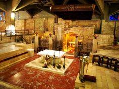La Gruta de la Anunciación en Nazaret...