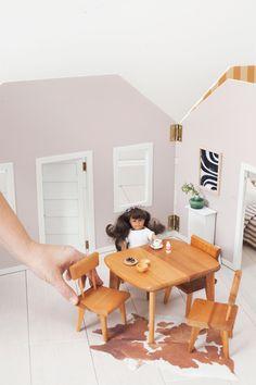 Make a Fold-Away Dollhouse – A Beautiful Mess