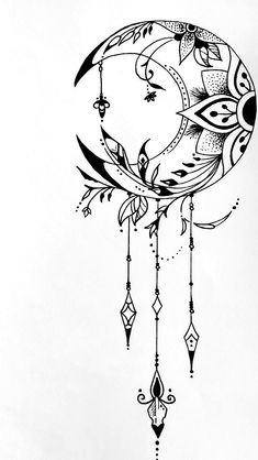 Image about love in draw by Lottiee on We Heart It - - about compasstattoo draw flowertattoo heart image lottiee Love moontattoo tinytattoo Doodle Art Drawing, Mandala Drawing, Cool Art Drawings, Pencil Art Drawings, Cool Drawing Designs, Mandala Art, Drawings About Love, Lotus Drawing, Heart Drawings