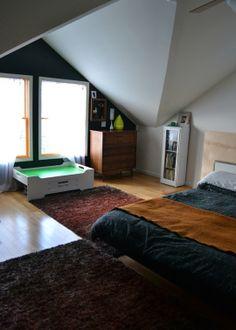 Anniu0027s Beautiful Blue Family Bedroom