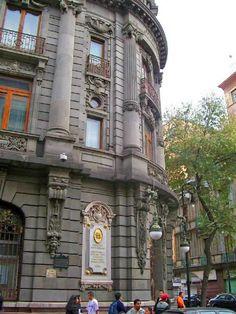 Former Banco de Londres y Mexico / Banca Serfin Building downtown Mexico City