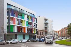 Exklusive Designer-Penthaus-Wohnungen im Stadtteil Amanecer. Avantgardistische Luxuswohnungen in einem Designer-Gebäude in absoluter Toplage im Herzen von Palma.   http://www.inmonova.com/de/property/id/548419-apartment-palma-mallorca