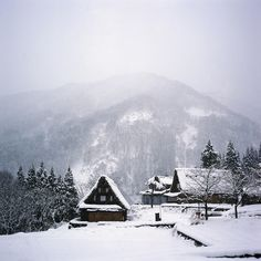 Ainokura, is the most remote village in the Gokayama region (Japan). It is also the largest of the villages with nearly 20 gassho-zukuri farmhouses