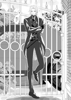 @eagleacee: ピー 2019-08-31 17:14窓に群がる学生たち。「校門で貴族が出待ちしてる!!!」「ホストが!!!」「バロンが!!!」「闇オークションの支配人!!!!!」ちなみにスポーツカーはたまたまそこにあったやつで、裏にチャリ止めてある。 Fantasy Rpg, Touken Ranbu, Anime Guys, Line Art, Poses, Manga, Naver, Solomon, Butler