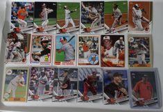 2017 Topps Update Orioles Master Team Set of 18 Baseball Cards W/ SP Variations #topps #BaltimoreOrioles