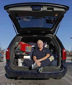 From commanding the skies to sleeping in a minivan: Homeless veteran USAF colonel now lives in his car because he can't find a job - Help Us Salute Our Veterans by supporting their businesses at www.VeteransDirectory.com, Post Jobs and Hire Veterans VIA www.HireAVeteran.com Like, Repin, Follow, Link to, write articles etc.. Together maybe we can prevent one suicide, one homeless veteran, one family breakup! Thanks! Semper Fi!!