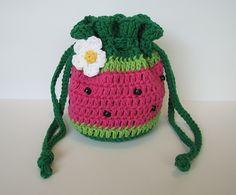 Watermelon Drawstring Bag.