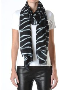 Love the scarf but why is it that everyone wants to pull leather pants off but nobody can