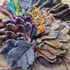 """Meanwhile, the Koigu leaves are coming along #knitpurllove #theressolittletimeandsomuchtoknit #knittedleaves #leaf #leaves #knitting #instaknit #knitstagram #koigu #koigugram #handknit #handmade #knittersofinstagram #nevernotknitting"" Photo taken by @knit_purl_love on Instagram, pinned via the InstaPin iOS App! http://www.instapinapp.com (01/21/2015)"