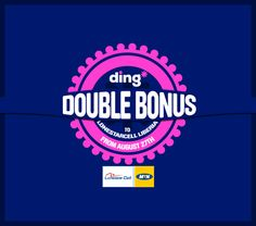 WOW!!!  X2 Double Bonus offer for you on mobile top-up to Lonestarcell Liberia. That means you get double the credit recharge for the same price as normal when you send a top-up with ding* https://www.ding.com/countries/africa/liberia