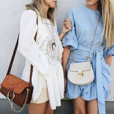 TheyAllHateUs | blue and white Celine beautiful