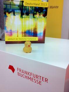 Habe den Sprechertisch bei der Deutschen Fachpresse gekapert.
