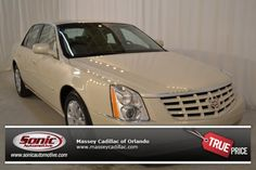 Certified Pre-Owned 2011 CADILLAC DTS For Sale in Orlando near Daytona Beach, FL - SBU136068