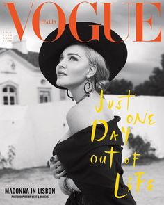 Madonna is the Cover Star of Vogue Italia August 2018 Issue