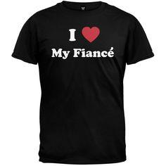 I Heart My Fiance T-Shirt
