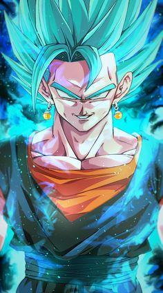 Dragon Ball Z, Dragon Ball Image, Goku Blue, Dbz Wallpapers, Gogeta And Vegito, Super Anime, Character Design Animation, Anime Art, Fnaf Drawings