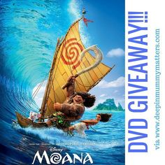 New #giveaway live on the blog to #win Moana on DVD. Link in bio X #moana #competition