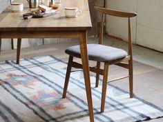 【楽天市場】SORM dining chair ソルムダイニングチェア オーク 無垢材を贅沢に使用した椅子:a.depeche アデペシュ