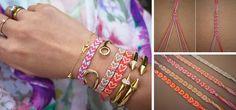 heart pattern friendship bracelet