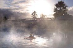 Calistoga hot springs