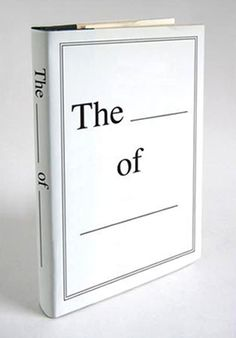 """the _____ of _____""by paul sahre"