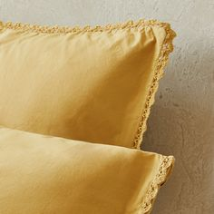 Image 5 of the product Washed percale duvet cover with lace trim Zara Home, Spare Room, Lace Trim, Bed Pillows, Duvet Covers, Pillow Cases, Bedroom, Image, United Kingdom