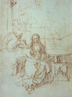 Learn more about The Holy Family In A Trellis Albrecht Durer - oil artwork, painted by one of the most celebrated masters in the history of art. Albrecht Durer, Holy Family, Art And Architecture, Printmaking, Holi, Renaissance, Trellis, History, Artist