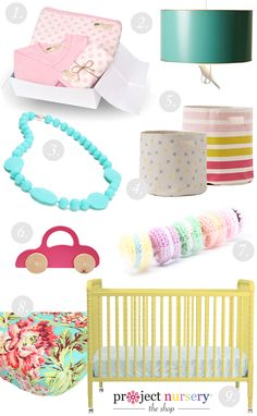 Project Nursery's Top Nursery Decor + Baby Gift Ideas for Spring
