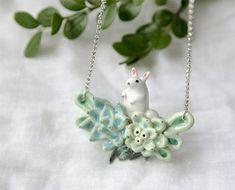 Ceramic jewelry by Anastasia  of Ms. Birdie