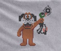Nintendo Duck Hunt Retro Gamer Gaming Shooter Dog Character NES Classic 8 bit Tee Tshirt T-Shirt
