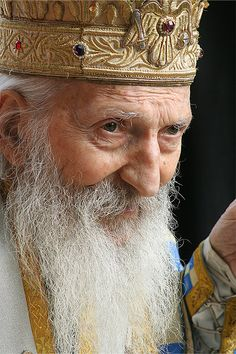 """""""No one can not choose the time when to be born and when to live. It does not depend on him from which parents, neither in which nation will he be born, but it does depend on him how will he act in a given time: whether as a man or as inhuman, regardless of his nation and regardless of his parents."""" ~ Serbian Patriarch, Pavle - from 1990 until 2009"""