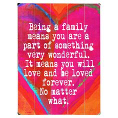 Perfect as a delightful focal point or in an eye-catching vignette, this charming wood wall decor brings a family-focused message to your walls. Place it in ...