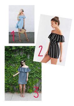 ~ TUTO : coudre une robe d'été bustier à encolure Bardot ~