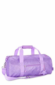4a36fb1d0b02 Bixbee  Large Sparkalicious  Dance  amp  Sports Duffel Bag (Girls) Girls  Accessories