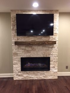 20 Amazing Tv Above Fireplace Design Ideas Home Pinterest