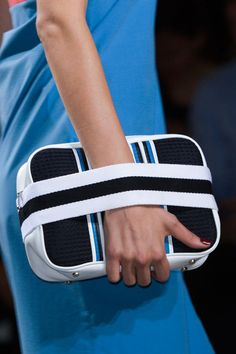 Pin for Later: Here's How to Wear Spring's Hottest Bags and Shoes Bags: Sporty Details