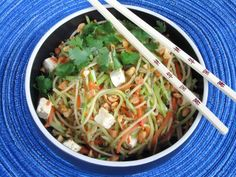 Spicy Thai Noodles with Tofu