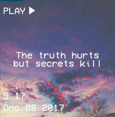 """keeping secrets made people liars"" - history is all you left me or they bot. - ""keeping secrets made people liars"" – history is all you left me or they bot… – - Tumblr Quotes, Sad Quotes, Life Quotes, Joker Quotes, People Quotes, Qoutes, Quote Aesthetic, Aesthetic Pictures, Truth Hurts"